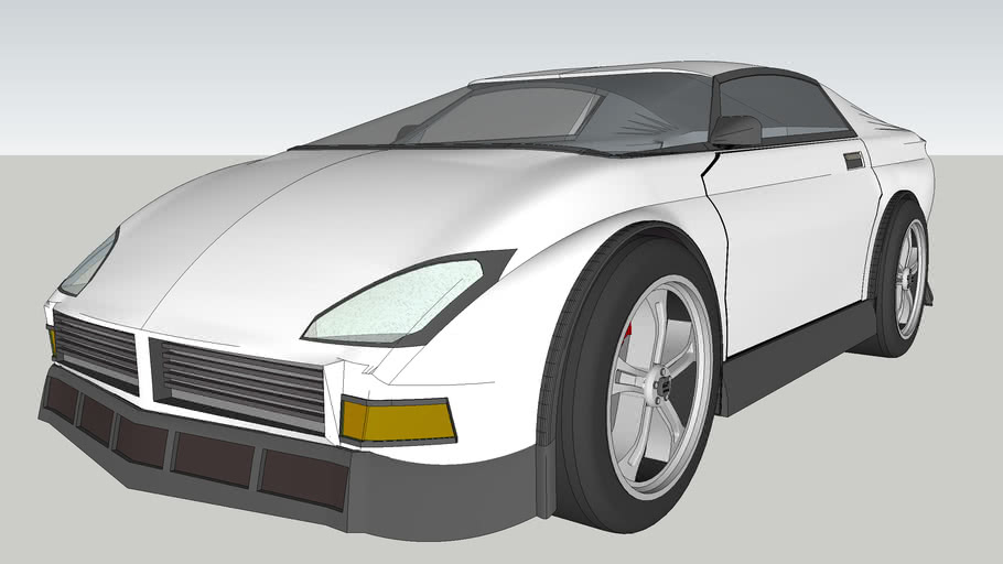 Sports Car Unfinished