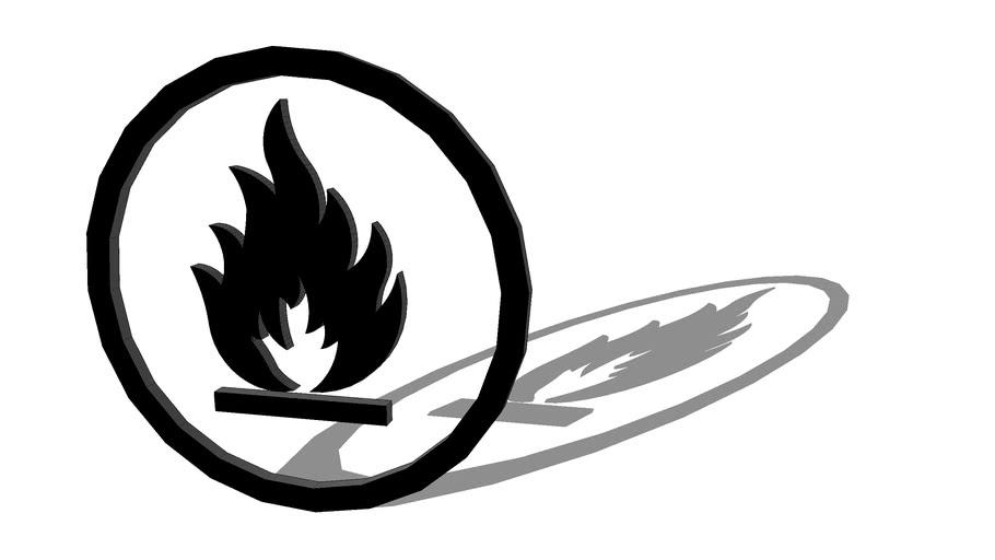 LOGO - Flammable