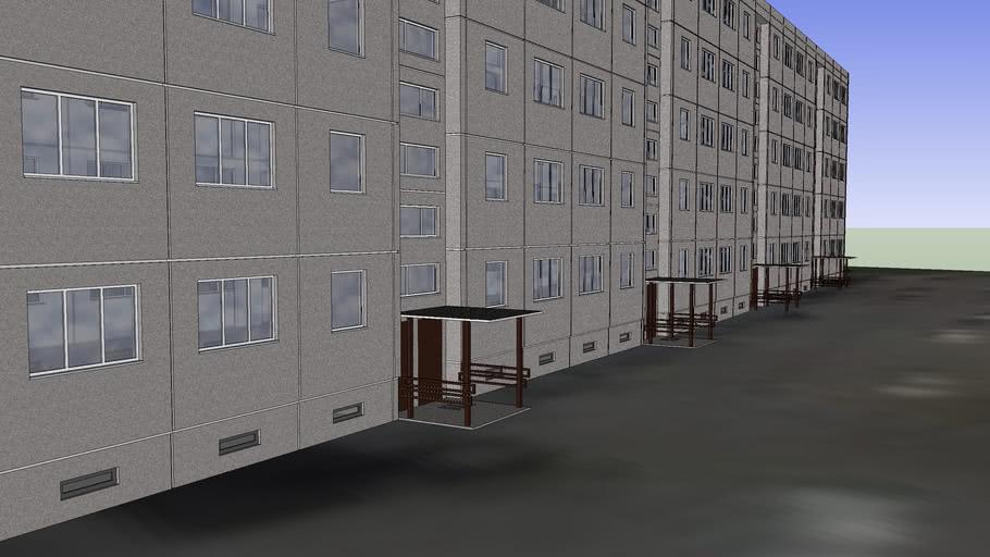 Statybininku 24, Klaipėda - penkiaaukštis daugiabutis
