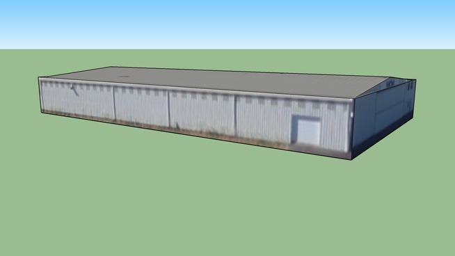 Air Hangar at Salem Municipal Airport