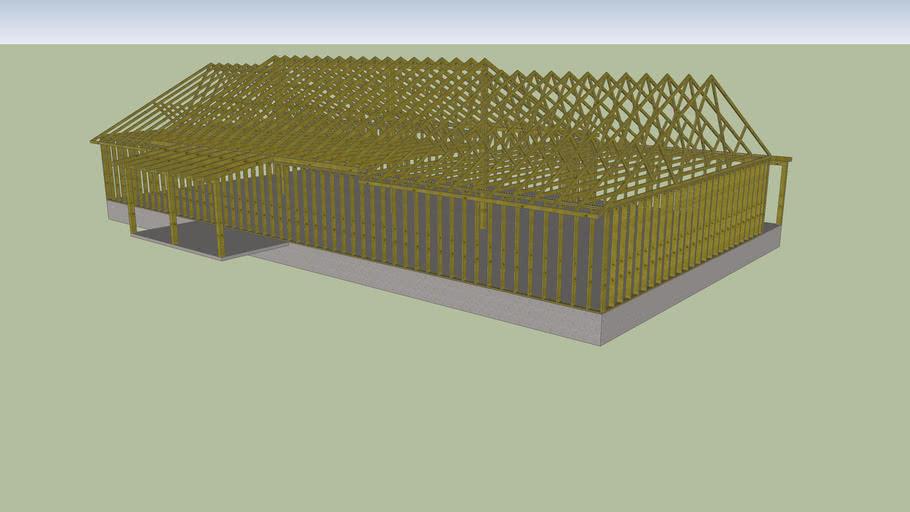 Stambagon Residence Framing Model