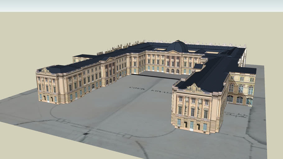 Gabriel's Great Design for the Versailles palace