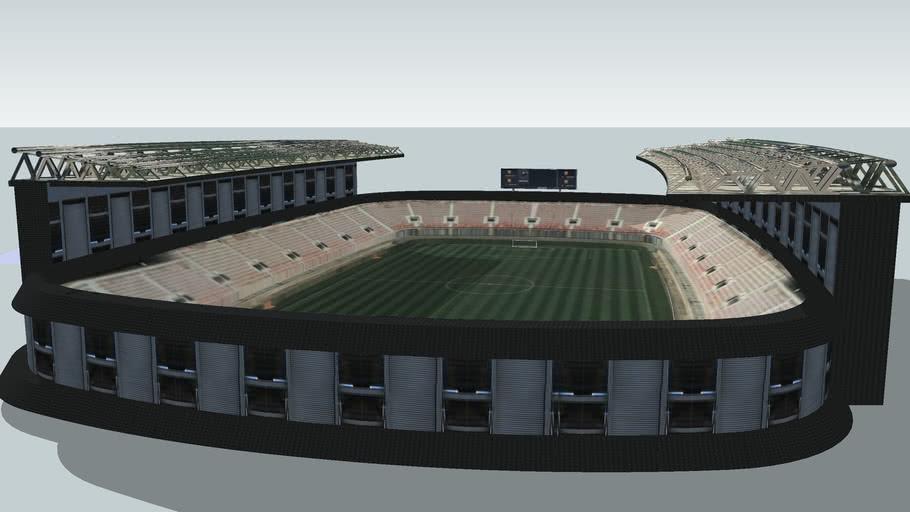 The stadium of FC Amurrio