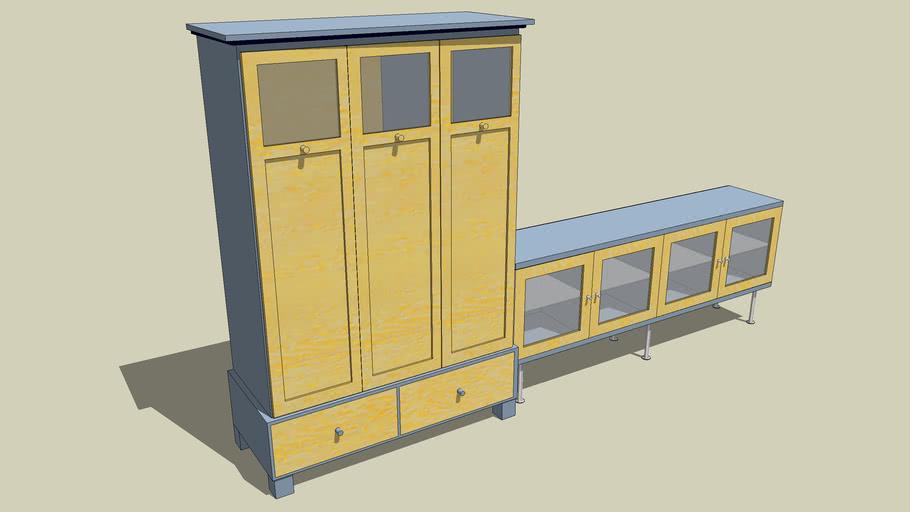 Cupboard, combination