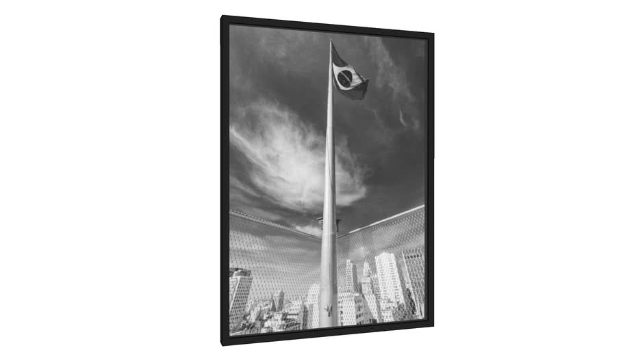 Quadro bandeira do brasil - Galeria9, por RENATO MOLÁS