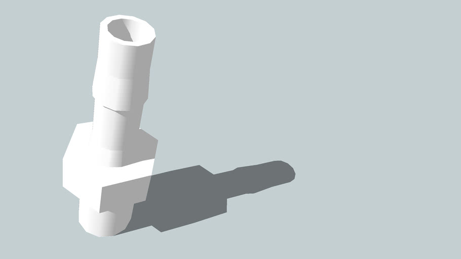 Perfusion CPVC Barbed Fitting