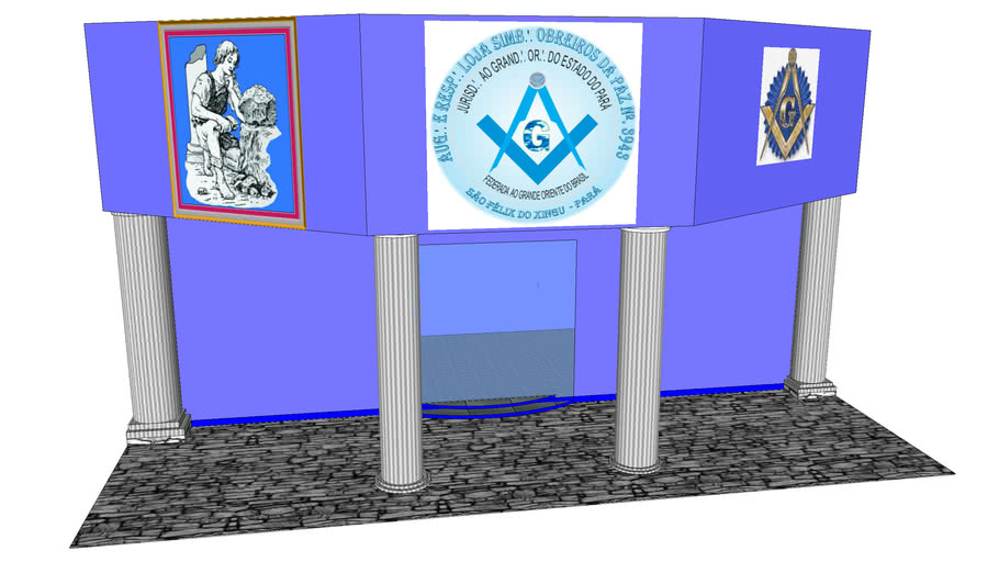 Templo Maçônico Obreiros da Paz 3943