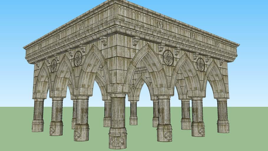 Sütunlu Kemer 1 - Pillared Arch 1