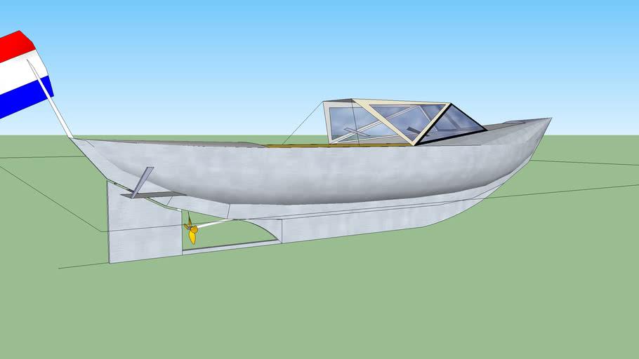 Outlander Fjord (based on Swedish Snipa boats )