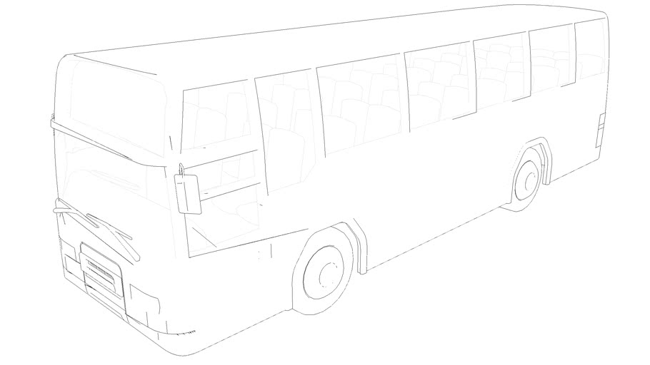 Russian Transit Bus