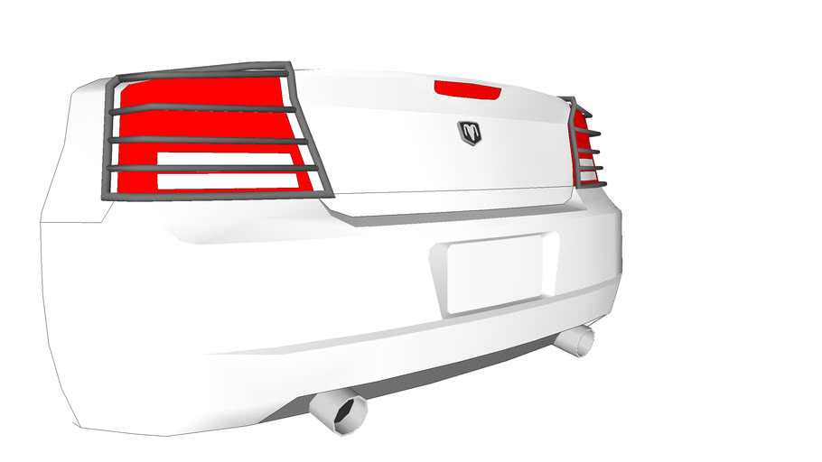 Dodge Charger Taillight Guards