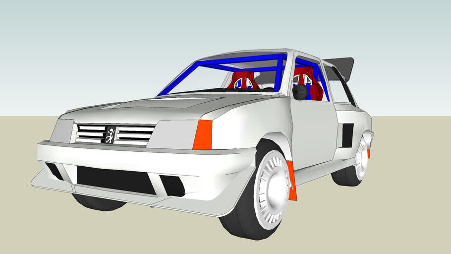 peugeot 205 rally turbo group b