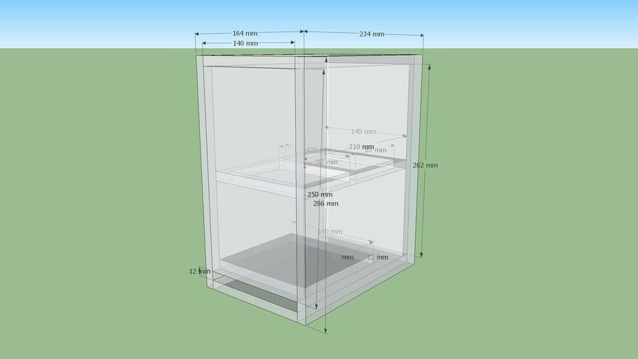 Mark Audio Pluvia 12mm 7.5L Vented Cabinet