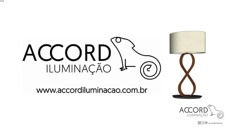 Abajur Accord Infinito7012