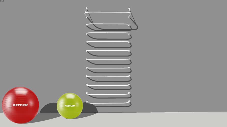 DIY swedish ladder