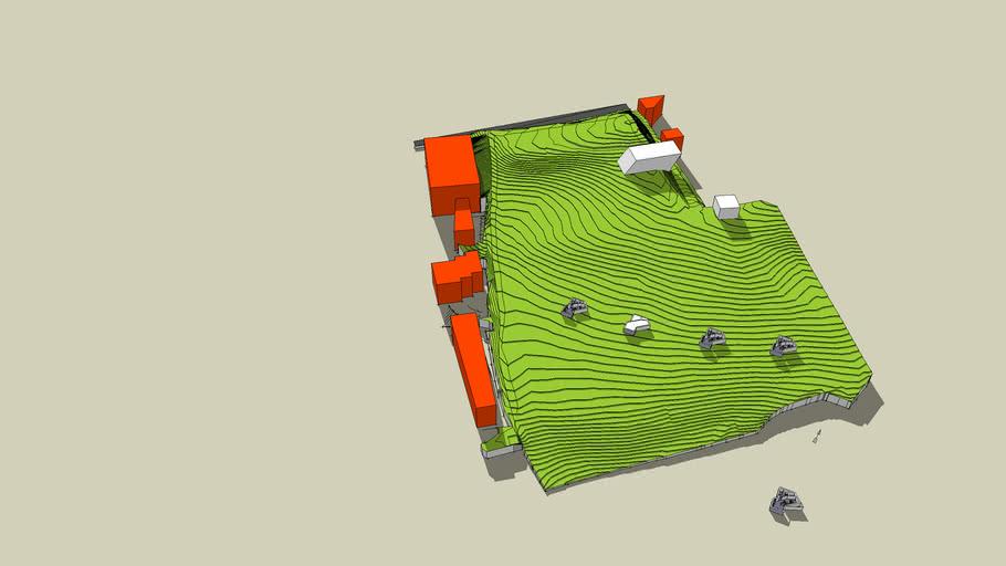 Plan 3D E.I.  phase 1 MIGAR 6QASHR