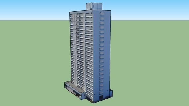 Building in Honolulu, HI, USA