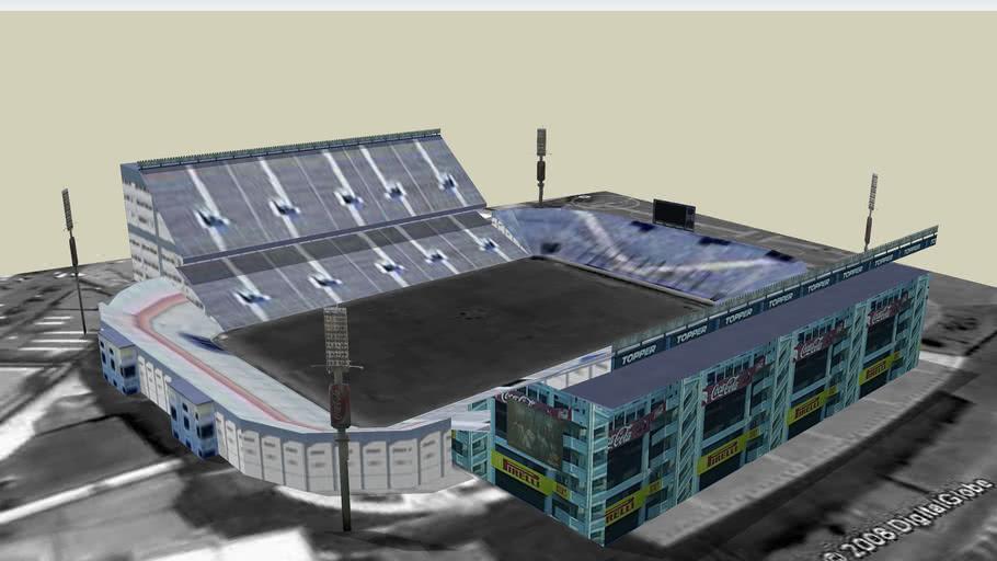 """Estadio José Amalfitani """" El Fortín """" de Velez Sarfield ( Buenos Aires, Argentina)"""