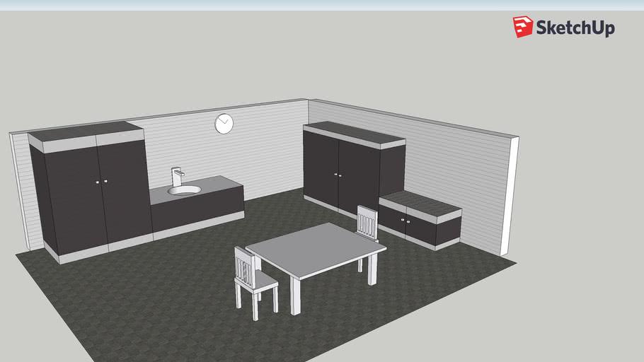 комната кухня