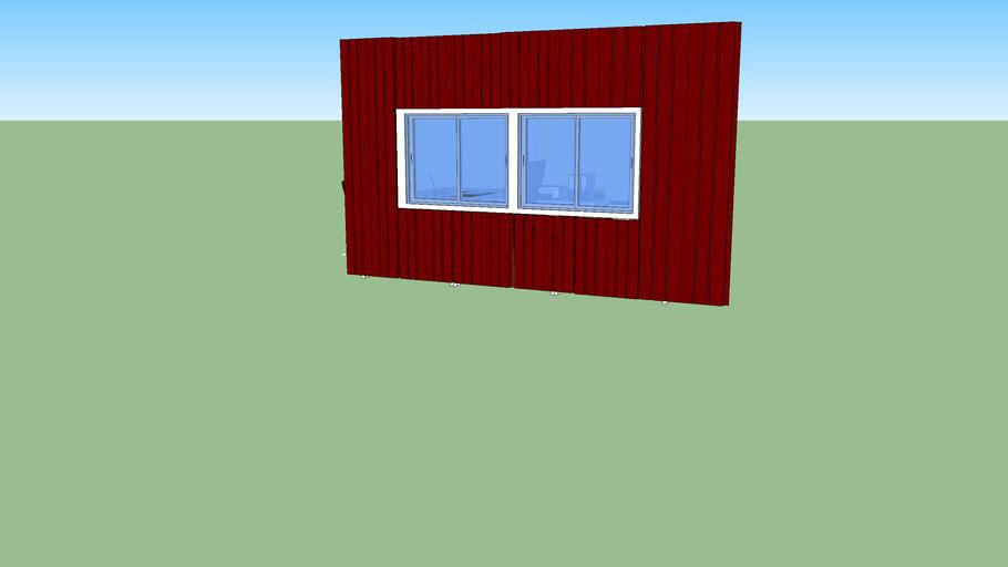 ผนังมีกระจก