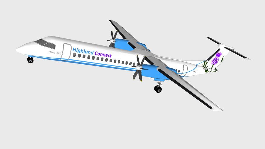 Bombardier Q400NextGen - Highland Connect G-HILD - 2015(F)