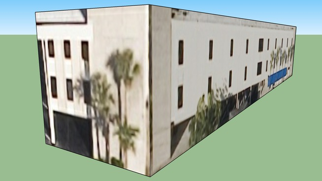 Zgradba v Orlando, Florida, Združene države Amerike