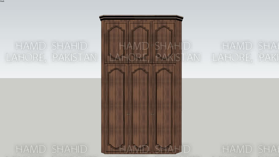 Classic Wooden Wadrobe