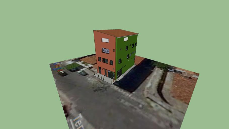 casa três andares