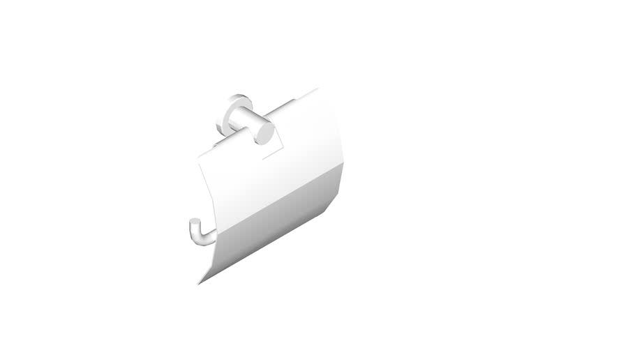JUSTIME Toilet Tissue Holder w/ Lid_6991-41-81S1