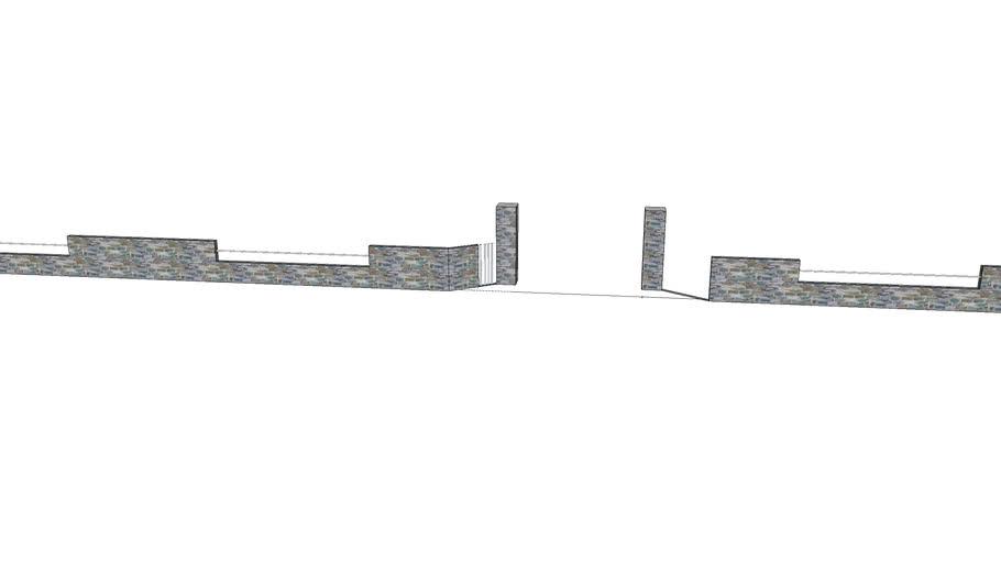 围墙fence