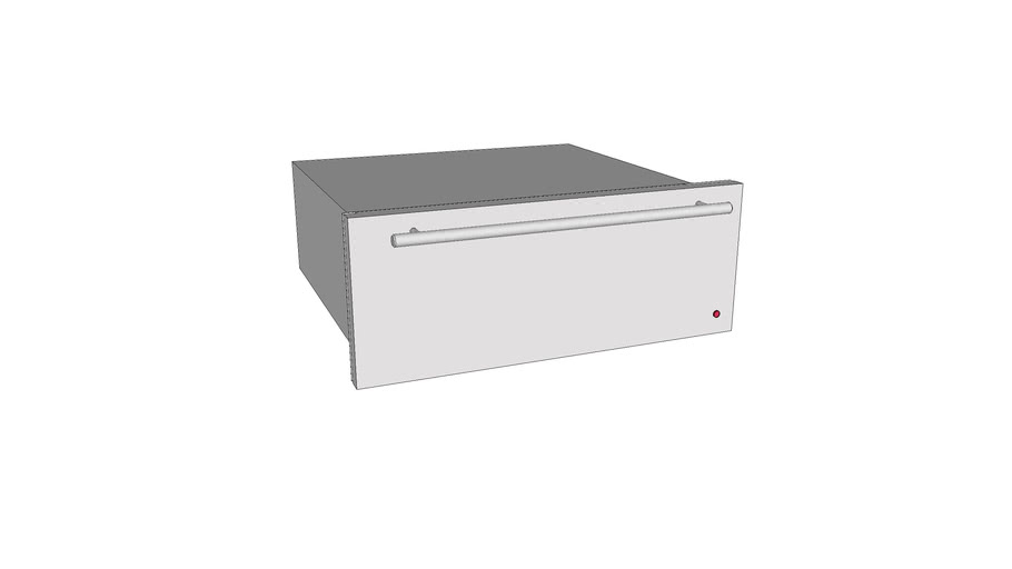 "27"" Stainless Steel Warming Drawer"