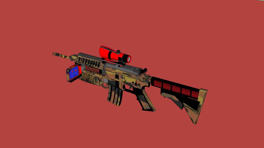 M4A1 Fall Camo