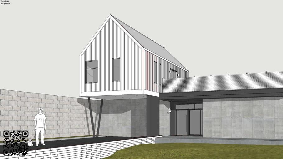 2 Storey House - Simple - Residential - Modern Home -Minimal
