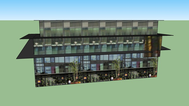 Centre Commercial Fleur d'Eau.