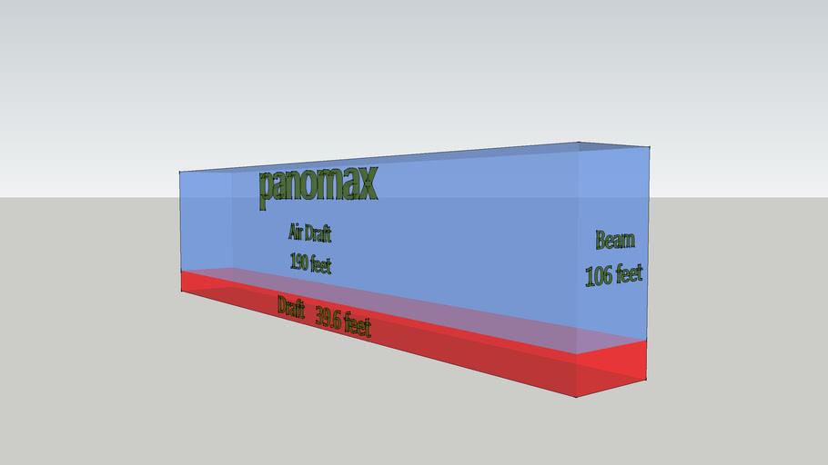 Panomax Ship Design Template