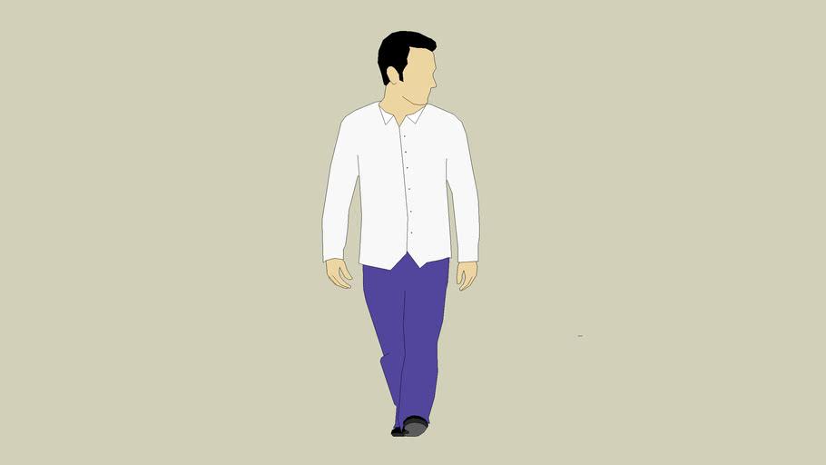 persona con camisa
