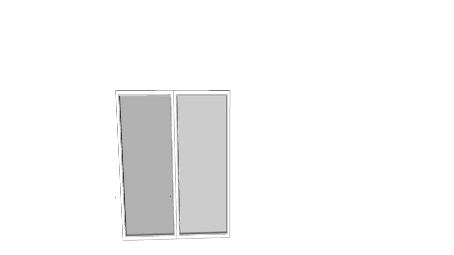 2 2060 CLEAR VIEW WINDOW WHITE