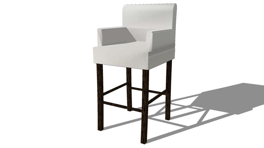 Housse ivoire fauteuil de bar LOUNGE, Maisons du monde. Réf: 111.584 Prix: 29€