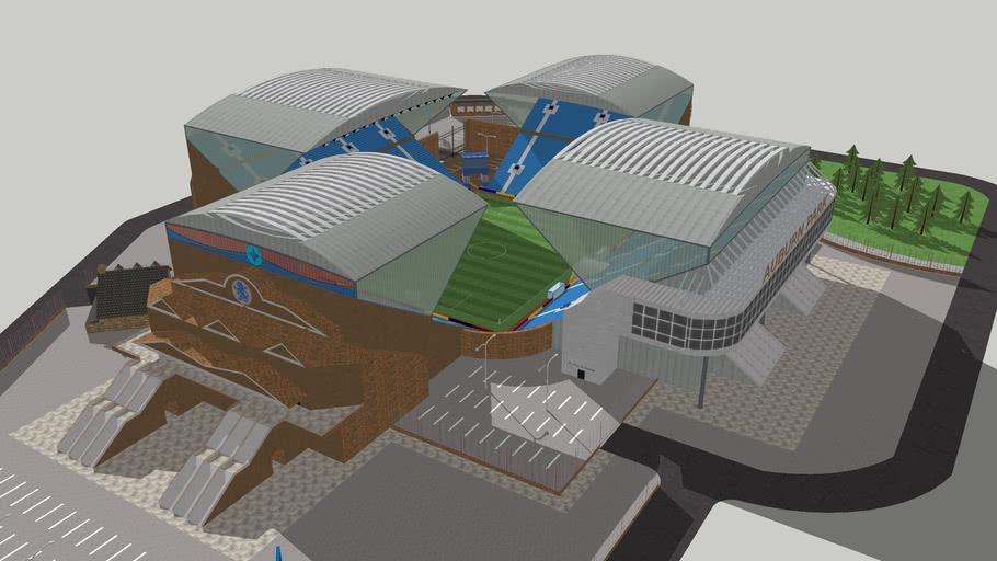 Auburn Park - Custom Football Stadium