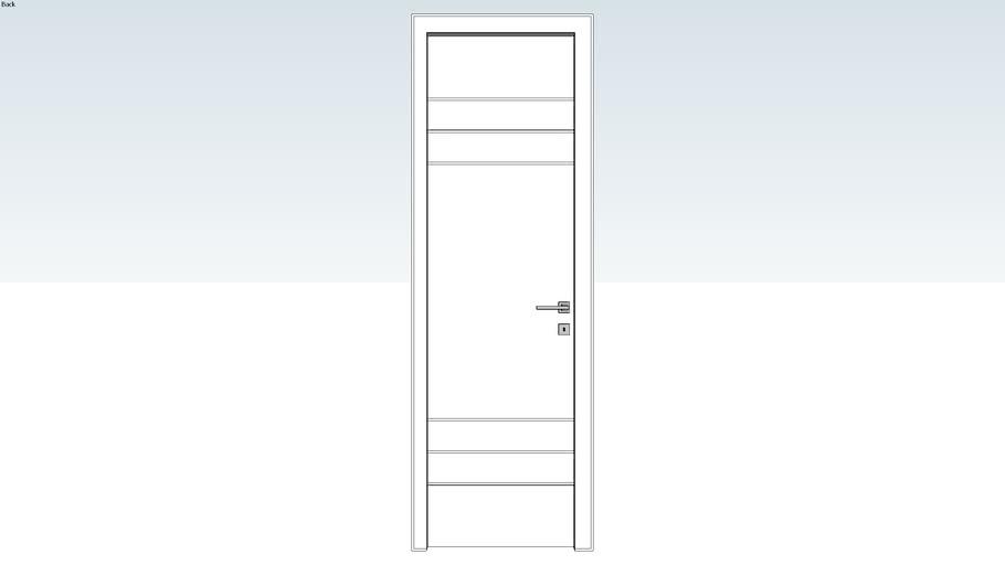Porta 75x217x15