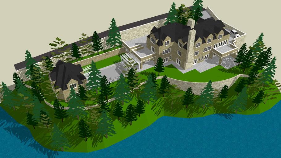 Mountain Lake Mansion (Please rate...)