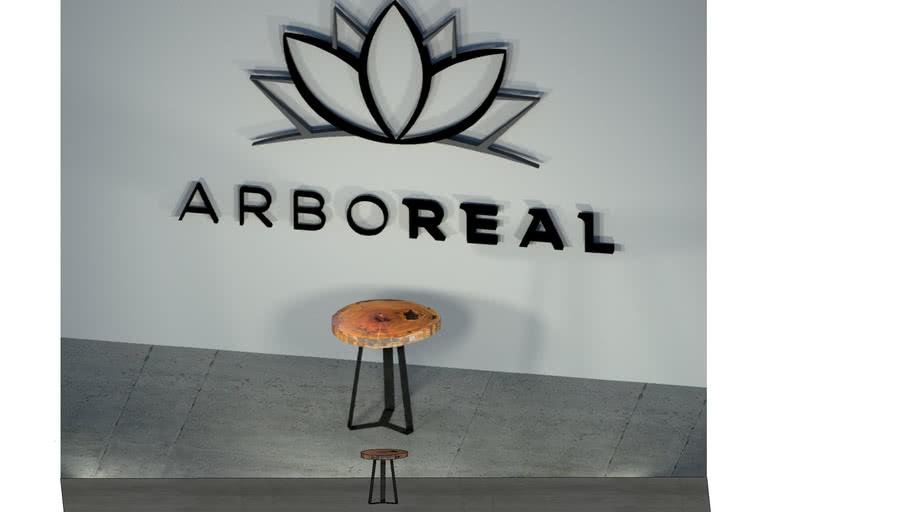 ArboREAL - Mesa Lateral Bolacha
