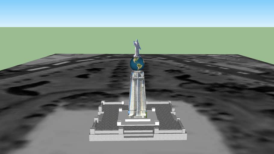 Monumento al Divino Salvador del Mundo (new-nuevo)