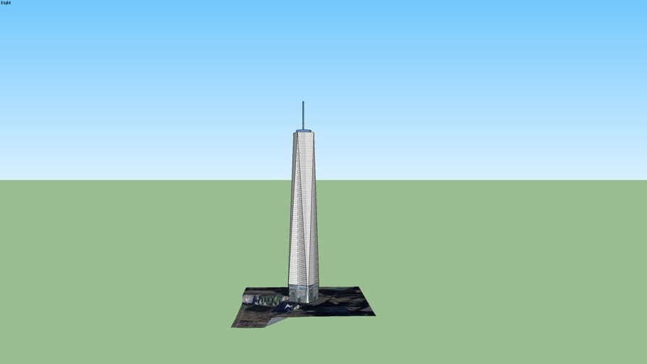the freedom tower (my 1st version)