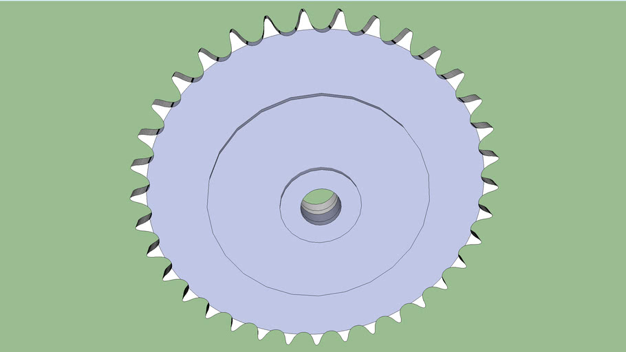35 tooth chain sprocket