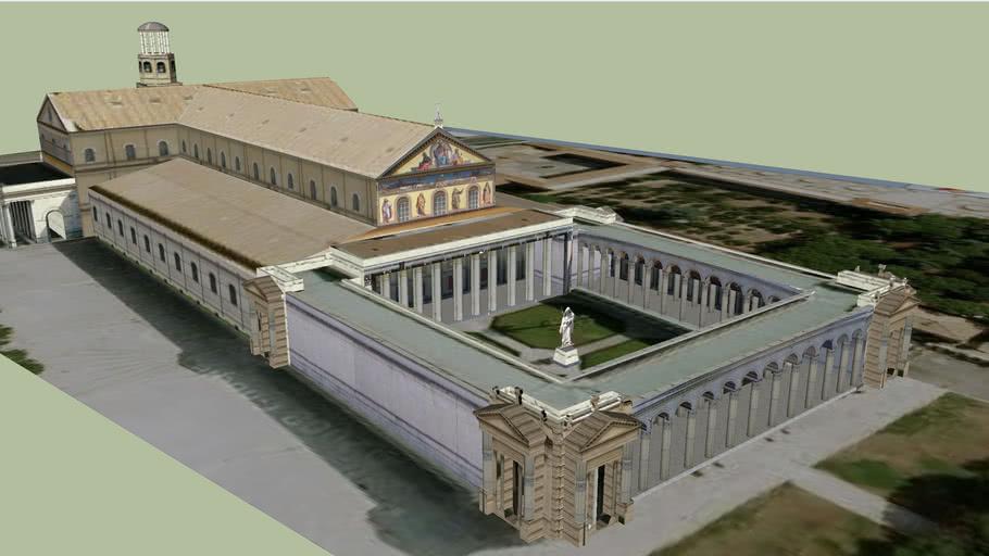 Basilica Papale Di San Paolo Fuori Le Mura 3d Warehouse