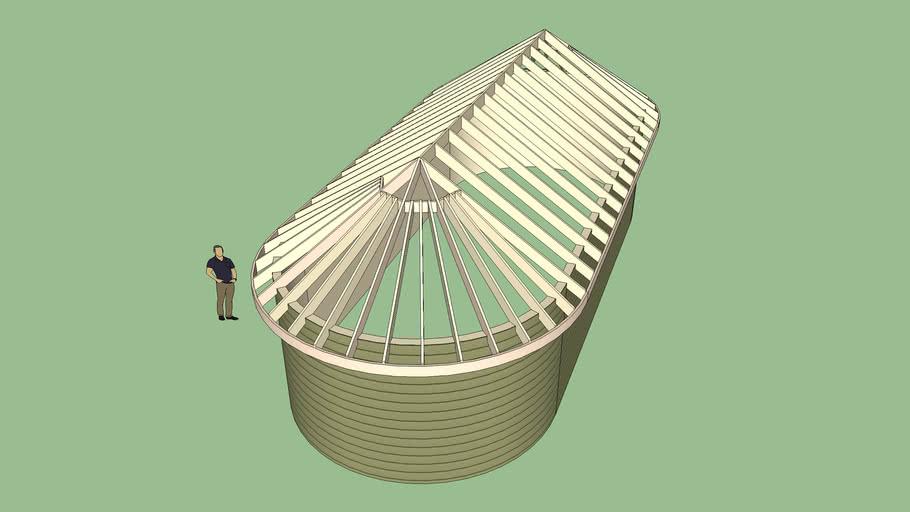 Circular Roof 3d Warehouse