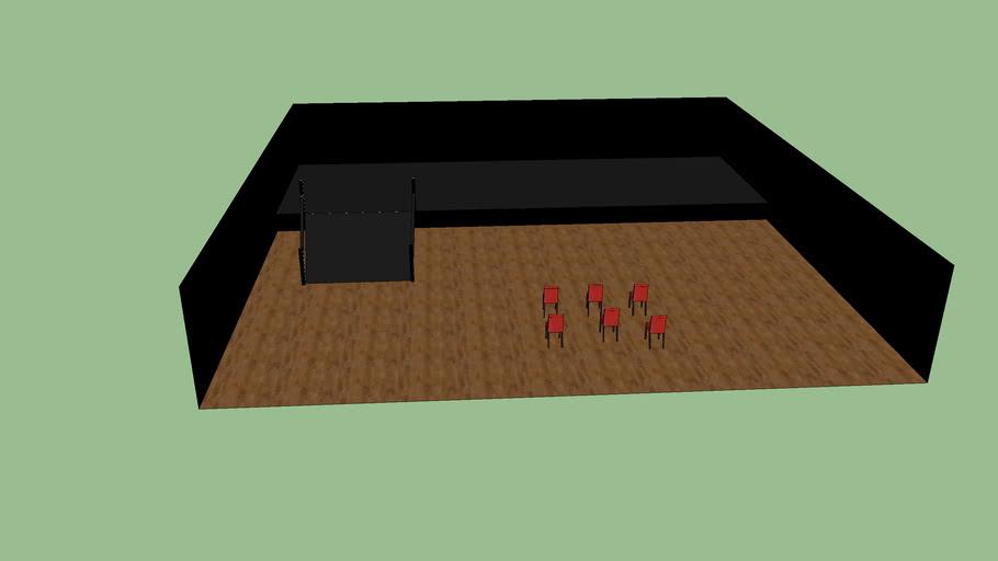 petite salle pour theatre privé