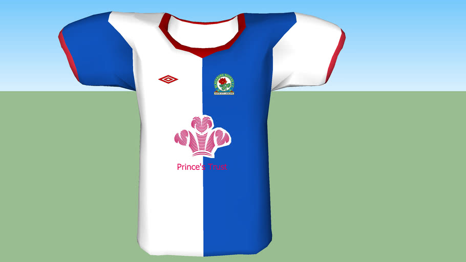 Blackburn rovers shirt 2011- 2012