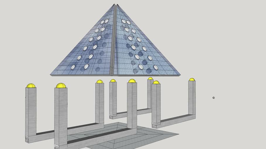 Giza Electrics Pyramid Solar Energy System